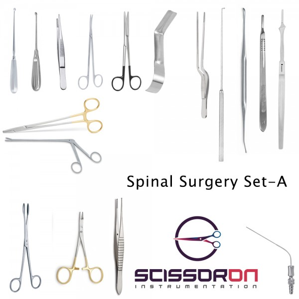 Spinal Surgery Instruments Set - A