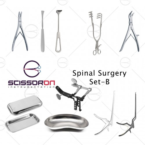 Spinal Surgery Instruments Set - C