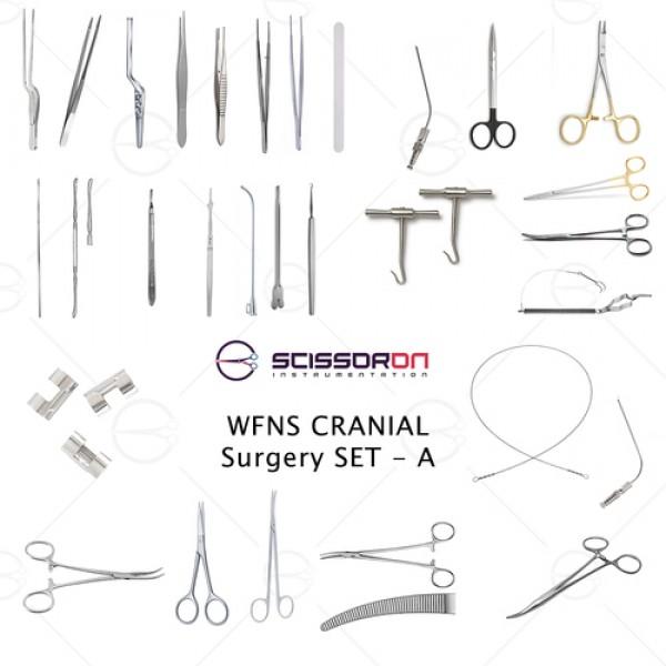 WFNS Cranial Surgery Set - A
