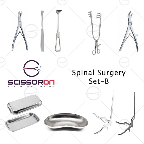 Spinal Surgery Instruments Set - B