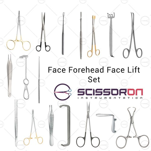 Face and Forehead Lift Set